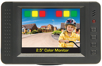 Color Monitor - Rearview Camera